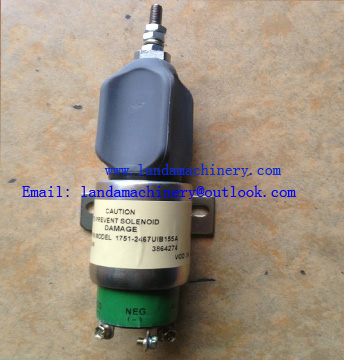 Engine stop Solenoid Valve 3864274 for Excavator