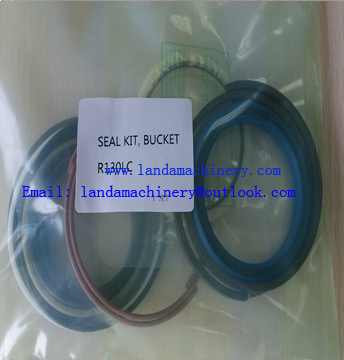 Seal Kits for Hyundai R130LC Excavator Bucket cylinder Oil seal