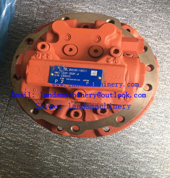 KYB MAG-18VP-350-4 B0240-18071 Excavator hydraulic travel motor device