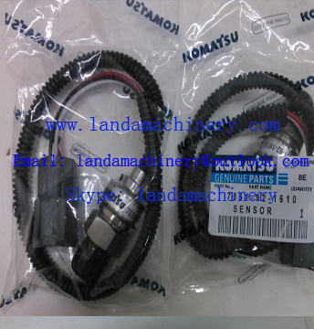 Komatsu 7861-92-1610 High pressure sensor for PC200-6 Excavator