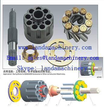 DH07 DH08 Excavator Swing Motor Hydraulic Parts Replacement component