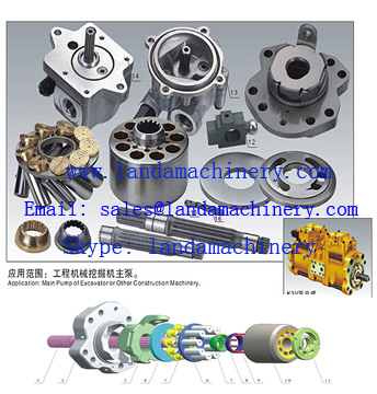 K3V63DT K3V112DT K3V140DT K3V180DT Hydraulic pump replacement parts hydro component