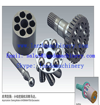 Excavator PC200-7 swing motor spare parts 706-7G-41210 706-7G-41710 706-7G-05010 706-7G-41160 Hydraulic Component