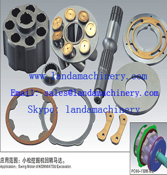 PC60-7 Swing motor Hydraulic rotating group Parts 708-7T-13140 708-7T-13290 708-7T-13352