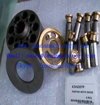 Kawasaki Hydraulic Pump K3V63DTP hydraulic parts for Excavator