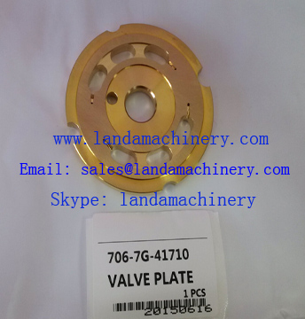 KOMATSU PC200-7 706-7G-41710 Valve Plate for Swing hydraulic Drive Motor