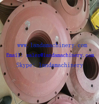Excavator Hydraulic Pump connected Engine Flywheel coupler Blanket