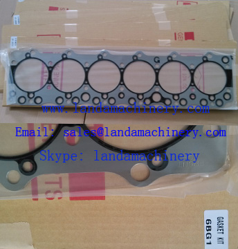 ISUZU 6BG1 Engine parts Gasket Kit Head Gasket for Hitachi Excavator