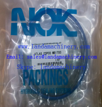 ATLAS COPCO MB1700 Hydraulic Hammer Rock Breaker NOK Oil Seal Service Kit
