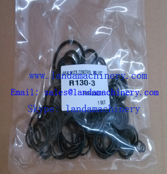 Hyundai R130-3 Excavator Hydraulic Control Valve Rubber O-RING Oil Seal Kit