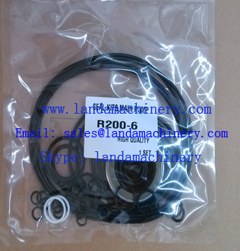 Hyundai R200-6 Excavator Hydraulic Main Pump NOK Oil Seal Service Kit