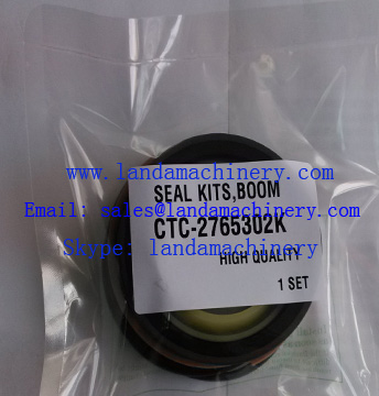 Excavator hydraulic Boom cylinder oil seal kit CTC-2765302K