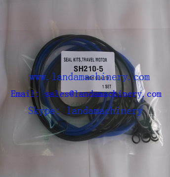 Sumitomo excavator SH210-5 repair kit Travel Motor hydraulic oil seal kit