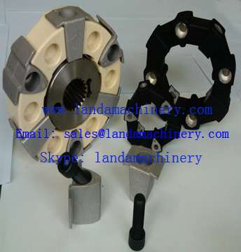 Heavy Equipment Excavator Air compressor Engine Drive Flexible Rubber Coupling
