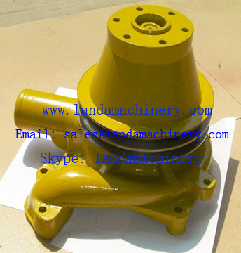 Komatsu PC400-1 excavator  SA6D110 engine 6138-61-1860 excavator water pump