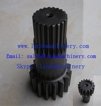 Daewoo DH225-9 excavator travel gearbox gear shaft pinion drive planetary