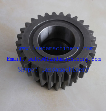 Kato HD1250-7 excavator Final drive travel planetary gear reduction gearbox