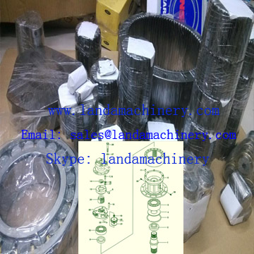 Hyundai R210-3 Excavator swing reduction gearbox gear planetary