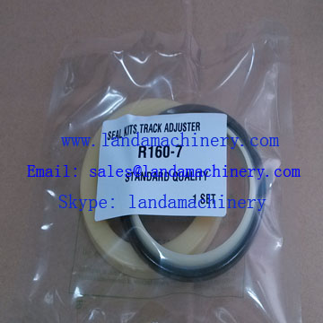 Hyundai R160-7 Excavator track adjuster seal kit 81E1-3304 81E1-3204