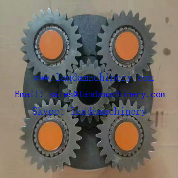 Doosan DX500 excavator final drive travel motor gear planetary reduction gearbox