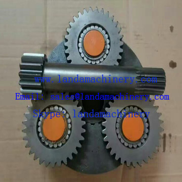 Doosan DX500 excavator final drive travel motor gear planetary reduction