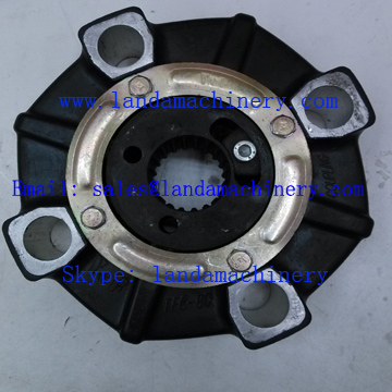 JCB JS200 Excavator Parts Diesel Engine Drive rubber Coupling