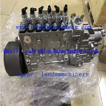Hitachi ZX350-3G Excavator Parts Isuzu Diesel Engine Fuel Pump