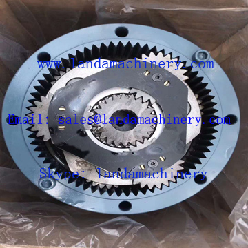 Kato HD512 Excavator Swing Turning Motor Reduction Gearbox
