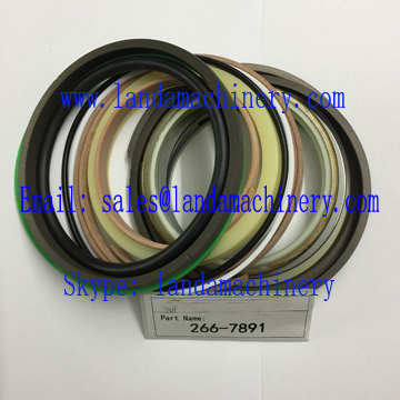 CAT 266-7891 Excavator Hydraulic Cylinder Seal Kit 2667891 Oil Seals Repair Parts