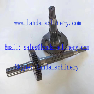 CAT 320C 320D Excavator Hydraulic Main Pump Parts Drive Shaft Driven