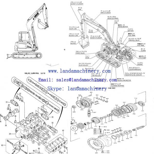 Home - Products - Parts for Caterpillar Excavators - Engine